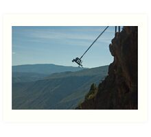 Worlds Highest SWING! Art Print