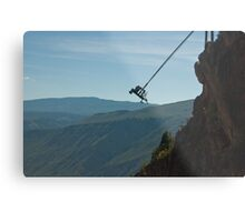 Worlds Highest SWING! Metal Print