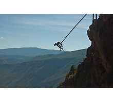 Worlds Highest SWING! Photographic Print