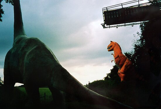 When Dinosaurs roamed the Earth by Rick Short