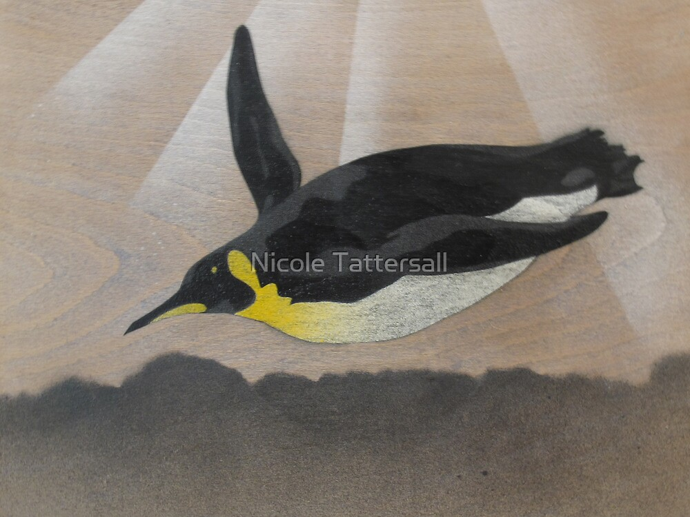 The Journey of the Penguin (Spray 1 of 10) by Nicole Tattersall