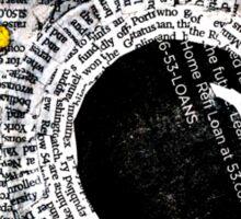 1000 Words Sticker