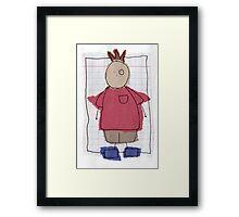 Graph boy Framed Print