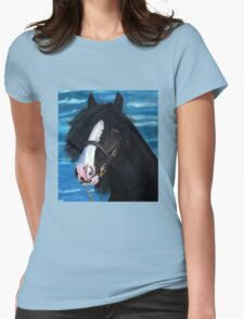 William Womens Fitted T-Shirt