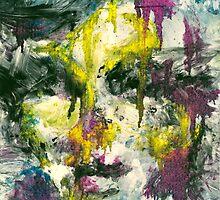 Color Monoprint #1 by signaturelaurel