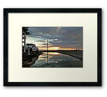 Storm Sunset Framed Print
