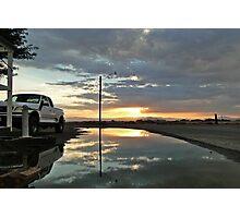 Storm Sunset Photographic Print