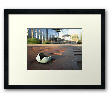 I Was Born in the City Framed Print