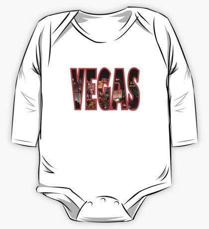 Las Vegas - Red One Piece - Long Sleeve