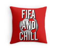 Fifa And Chill Throw Pillow