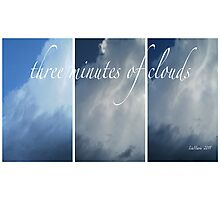 Three minutes of clouds... Photographic Print