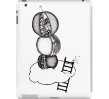 Orange Tower in the Cloud iPad Case/Skin