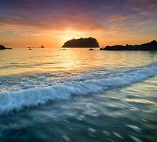 Motuotau island tropical punch by Ken Wright