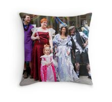 A Birthday Celebration Throw Pillow