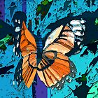 Orange butterfly graphic by ?? B. Randi Bailey