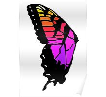 Butterfly wing pmore brand new eyes inspired  Poster