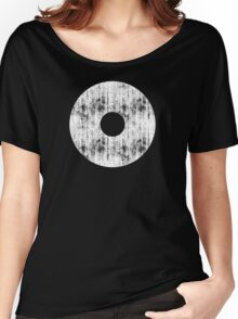 Damaged Circle Women's Relaxed Fit T-Shirt