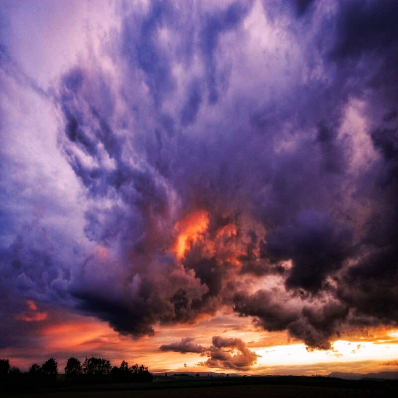 El cielo se rompe por Philippe Sainte-Laudy