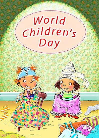 Сегодня всемирный День защиты детей