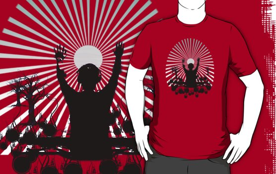 work.1566629.2.fig,red,mens,ffffff.sunrise set v3 Xmas #WishList: 30 Top Redbubble T shirt Designs