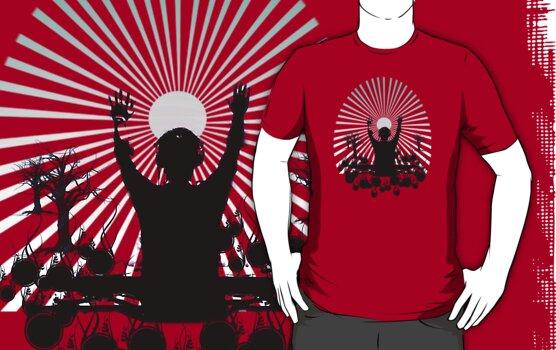 work.1566629.2.fig,red,mens,ffffff.sunrise set v3 Xmas #WishList: 30 Top Redbubble T shirt Designs