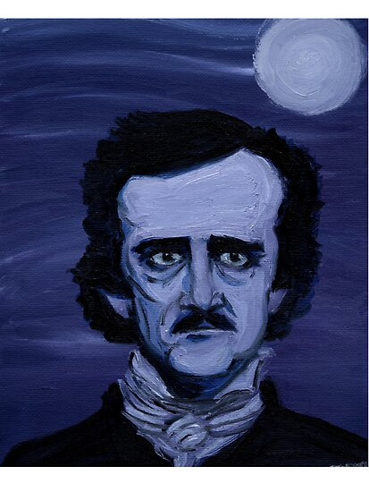 a literary analysis of poes work Analysis of the raven by edgar allen poe the nineteenth century poet edgar allen poe makes use of several literary devices in order to create a gloomy atmosphere in his poem the raven.