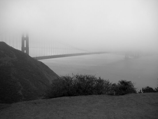 golden gate bridge fog. Golden Gate Bridge Fog by