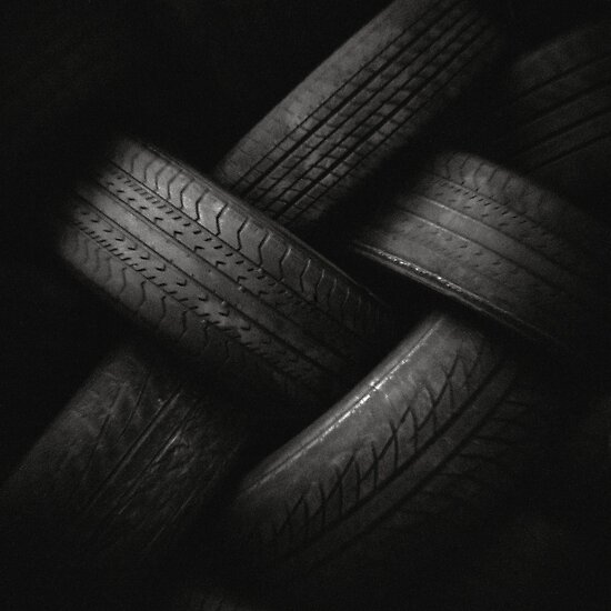 Toy Camera: Tyre Plait by Haydn Williams
