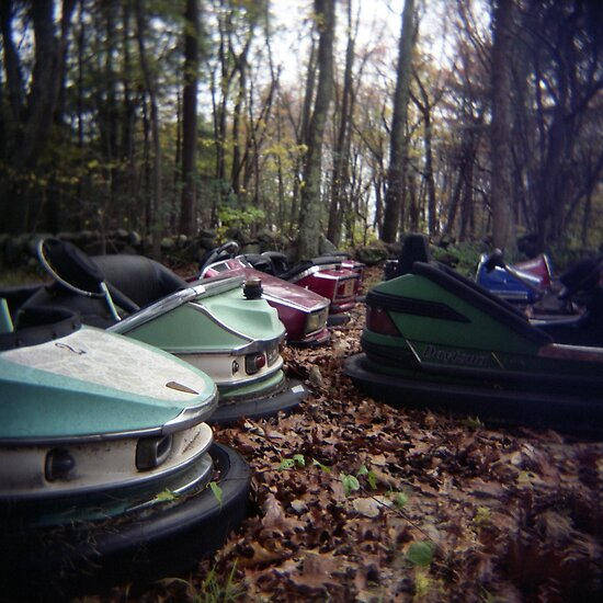 Toy Camera: Enchanted Cars by Paul Lavallee