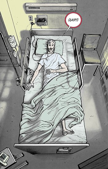 Comic Art: The Walking Dead Coloured by MRD Page 3 by morphix