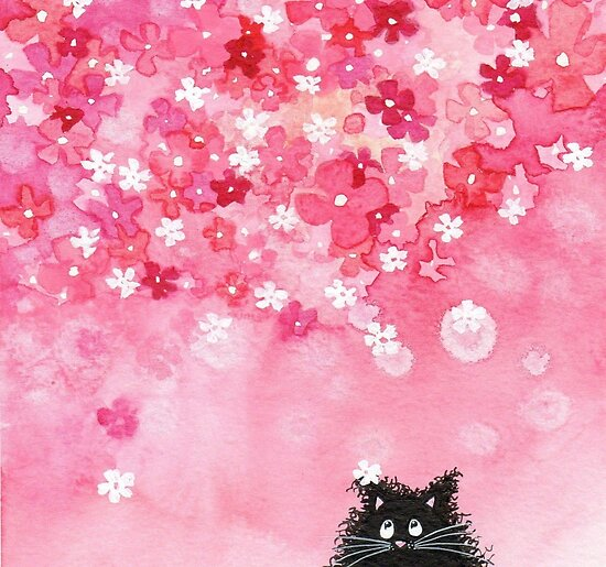 Falling Petals by Annya Kai Joslow