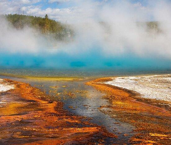 Yellowstone National Park Wyoming. Yellowstone National Park.