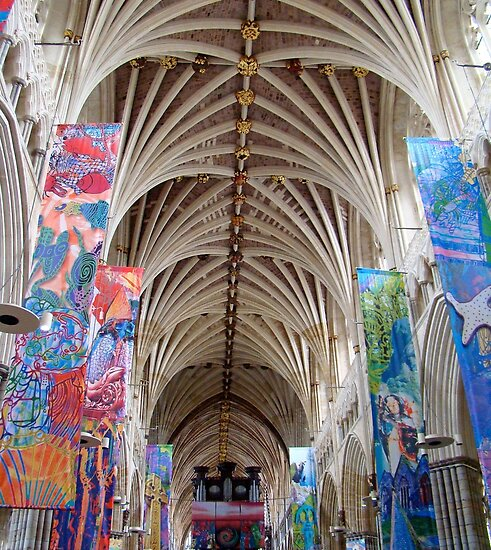 Exeter Cathedral, England, UK.