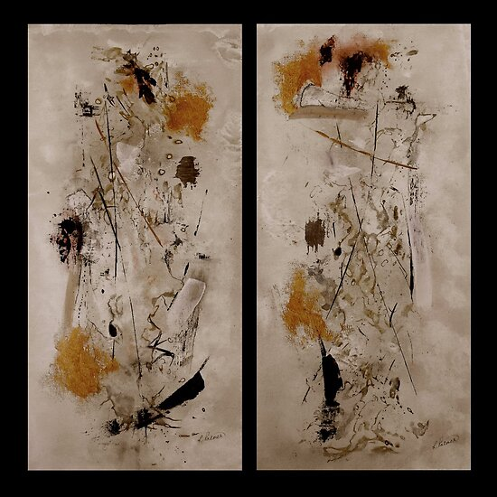 "Righteous Judgment The Diptych"" Fine Art Print by Ruth Palmer ..."