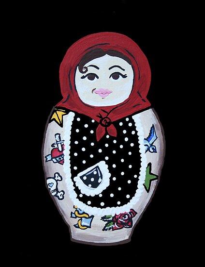 russian nesting doll tattoo