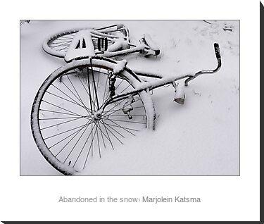 Mounted print, white border