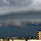 Summer Storm - Bribie Island - Panorama