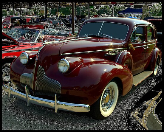1939 Buick Roadmaster. 1939 Buick Roadmaster Sedan by
