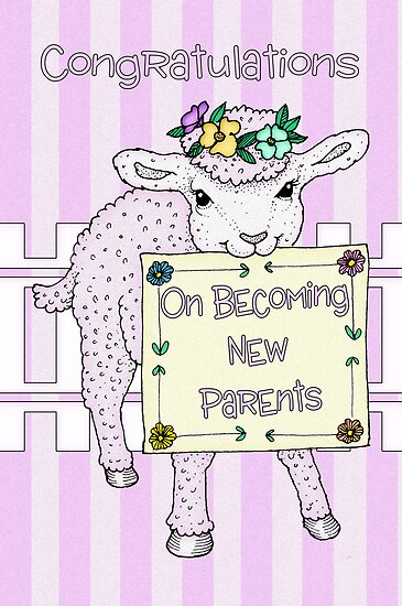 Congratulations On Becoming New Parents Card