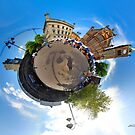 October's Photograph - Guildhall Square Derry panorama - Buy it as a Framed Print