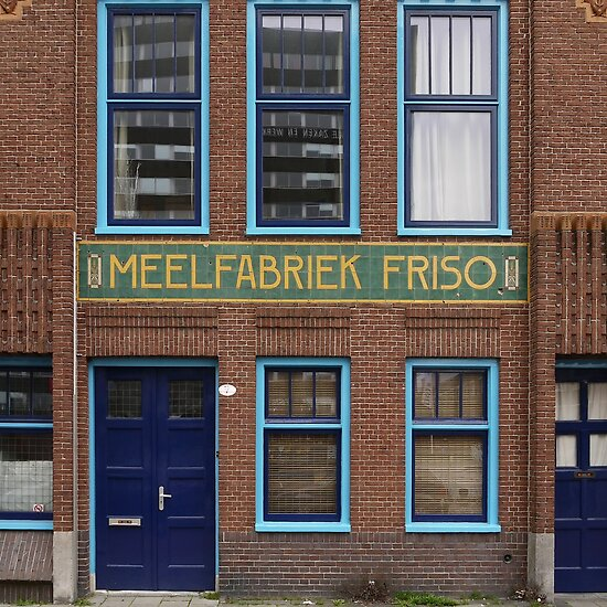 Beautiful brick - Meelfabriek Friso (context)