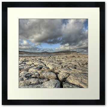 evening photo of Mullaghmore mountain in The Burren in county Clare