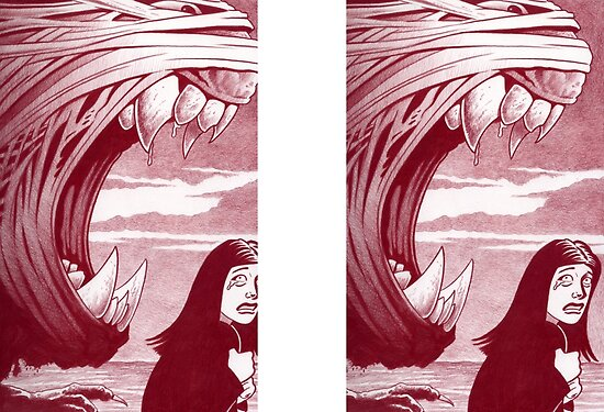 Comic Art: Nightmare Sequence 7 by Mike Cressy