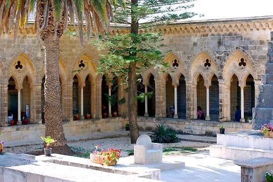 quot church of the pater noster jerusalem israel quot by carol clifford redbubble
