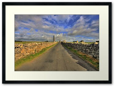 Kilmacduagh Round Tower and monastery ruins