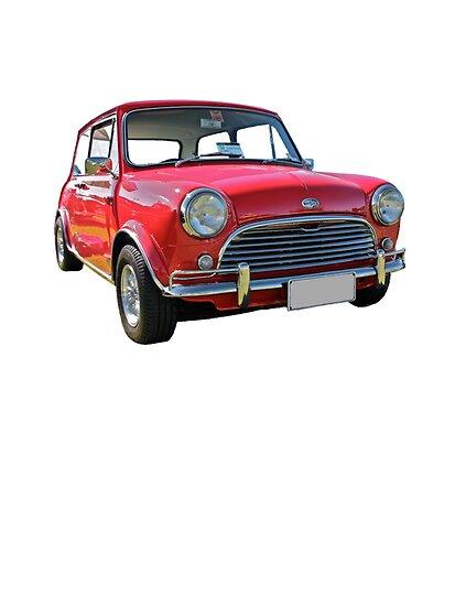 Mini Cooper Classic Red. Red Morris Mini Cooper S