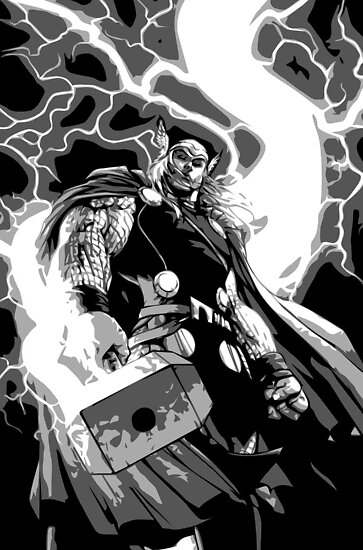 Comic Art: Thor by Beetlejuice