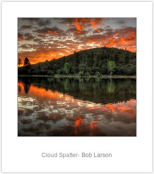 Cloud Spatter by Bob Larson