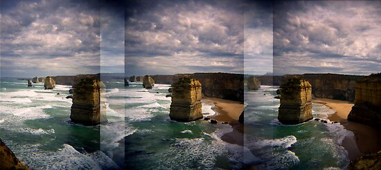 Toy Camera: 36 Apostles by thescatteredimage