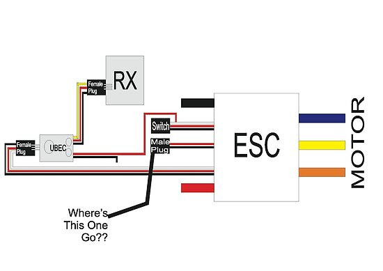 wiring diagram switch and esc apprentice wiring electrical diagram pictures